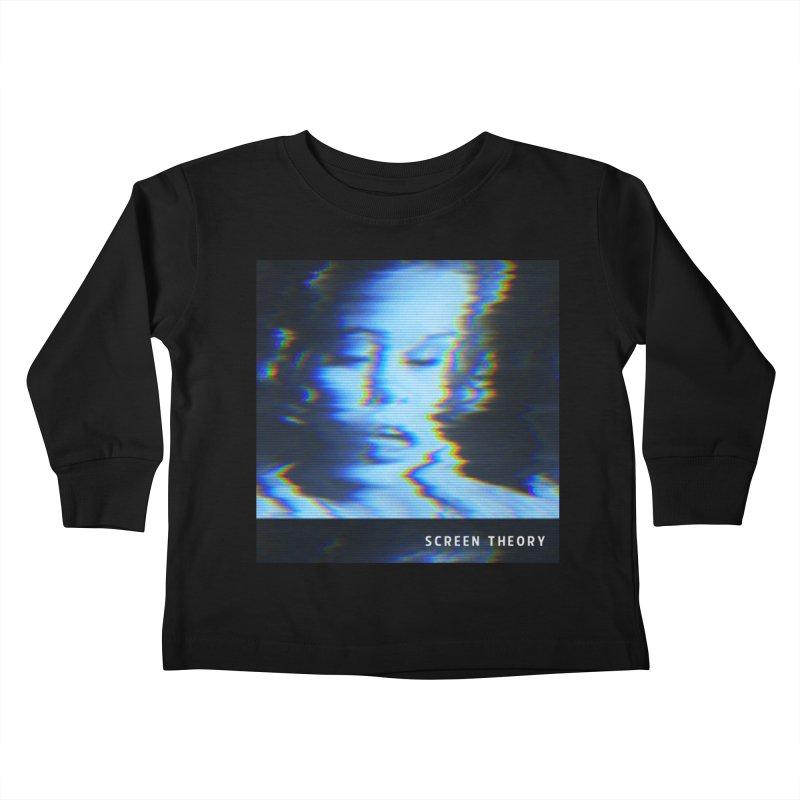 WRYE - SCREEN THEORY Kids Toddler Longsleeve T-Shirt by Phantom Wave