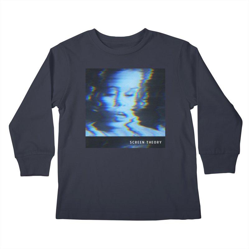 WRYE - SCREEN THEORY Kids Longsleeve T-Shirt by Phantom Wave