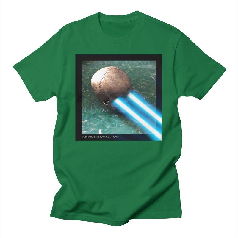 ALIEN ULTRA - THROW YOUR OWN Men's T-Shirt by Phantom Wave
