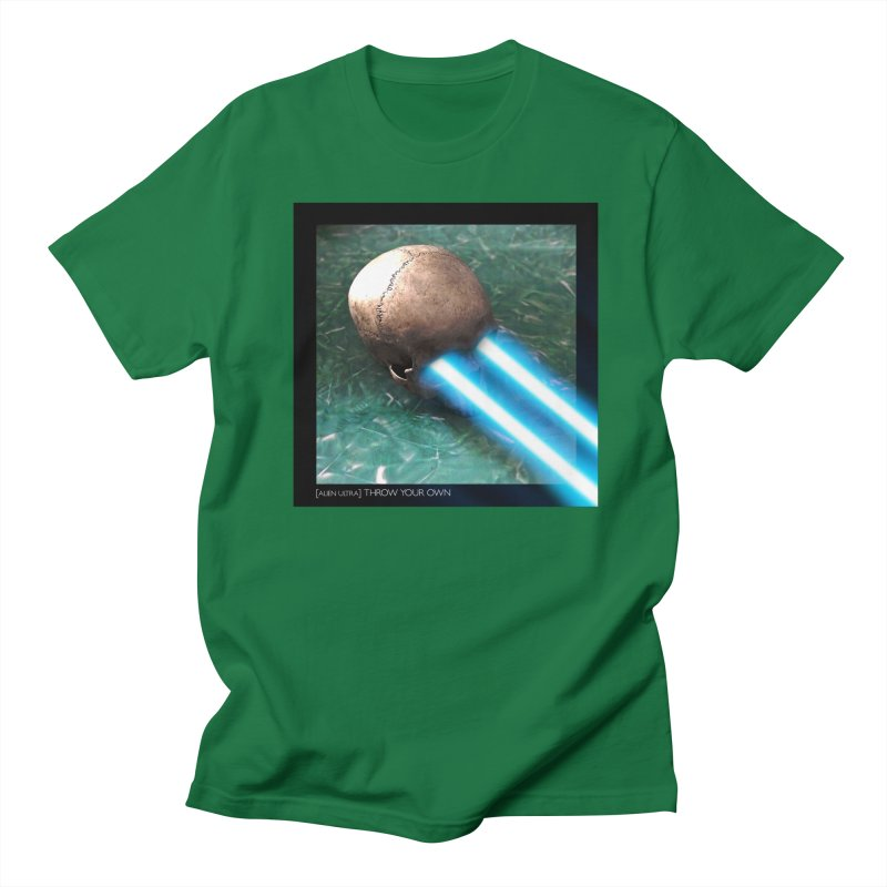 ALIEN ULTRA - THROW YOUR OWN Men's T-Shirt by Phantom Wave