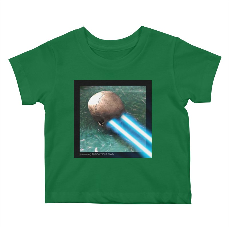 ALIEN ULTRA - THROW YOUR OWN Kids Baby T-Shirt by Phantom Wave
