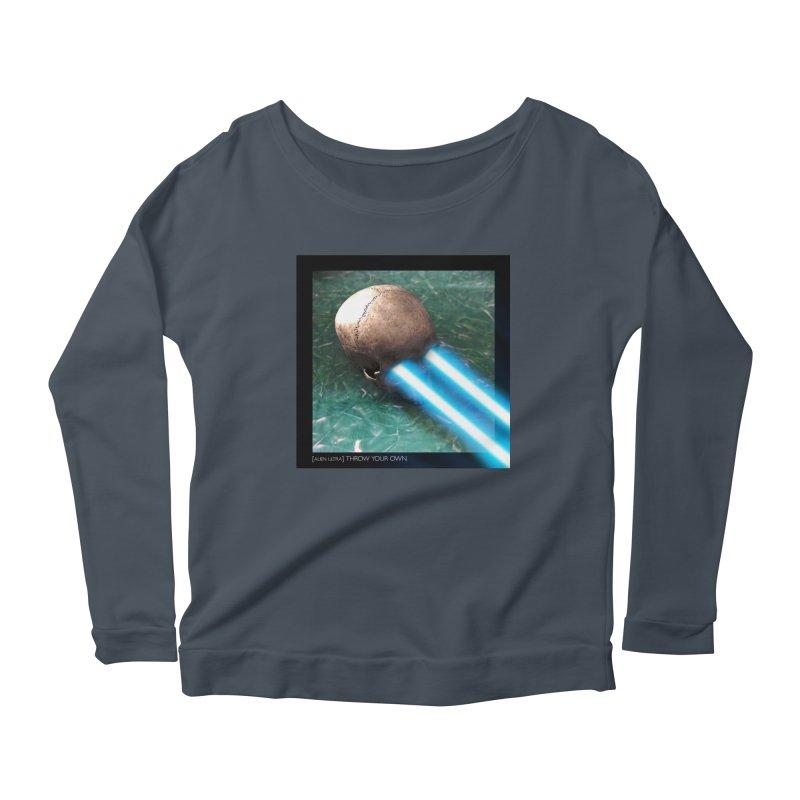 ALIEN ULTRA - THROW YOUR OWN Women's Longsleeve T-Shirt by Phantom Wave