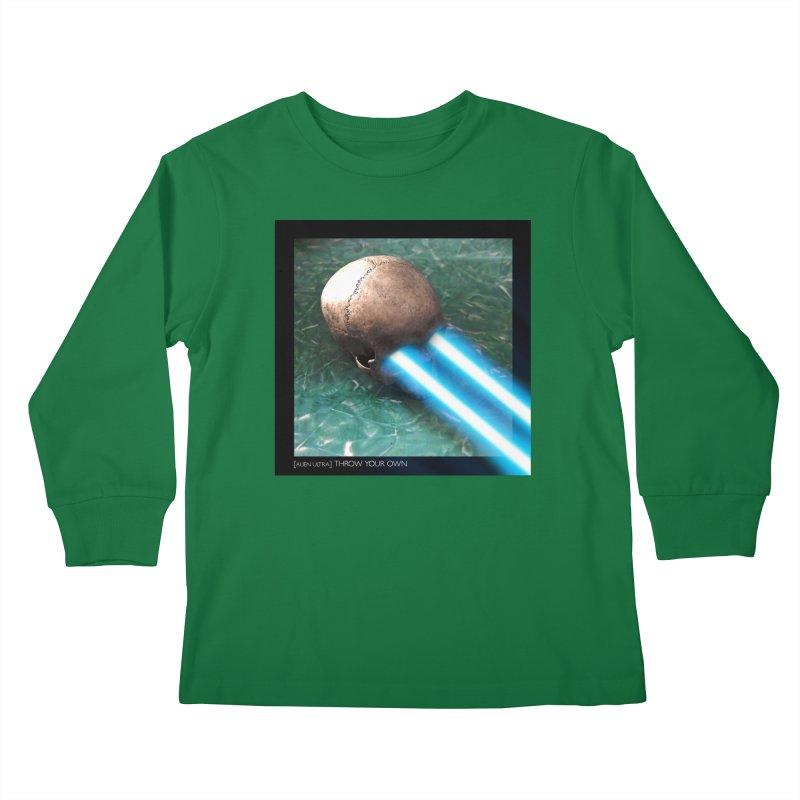 ALIEN ULTRA - THROW YOUR OWN Kids Longsleeve T-Shirt by Phantom Wave