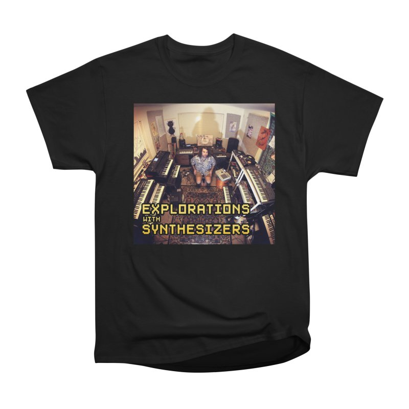 HUDSON GLOVER - EXPLORATIONS WITH SYNTHESIZERS Men's T-Shirt by Phantom Wave