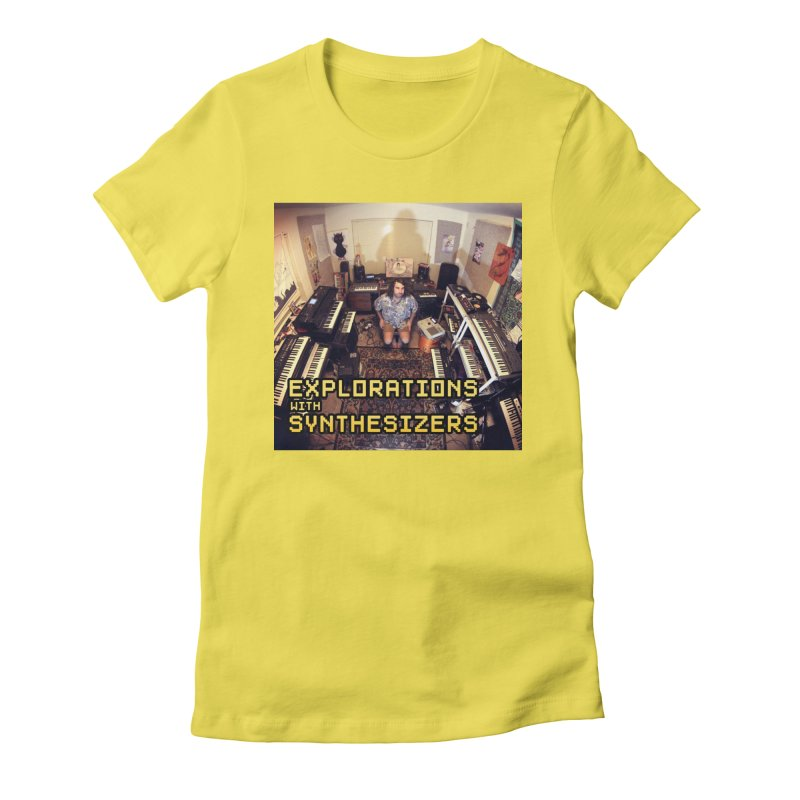 HUDSON GLOVER - EXPLORATIONS WITH SYNTHESIZERS Women's T-Shirt by Phantom Wave