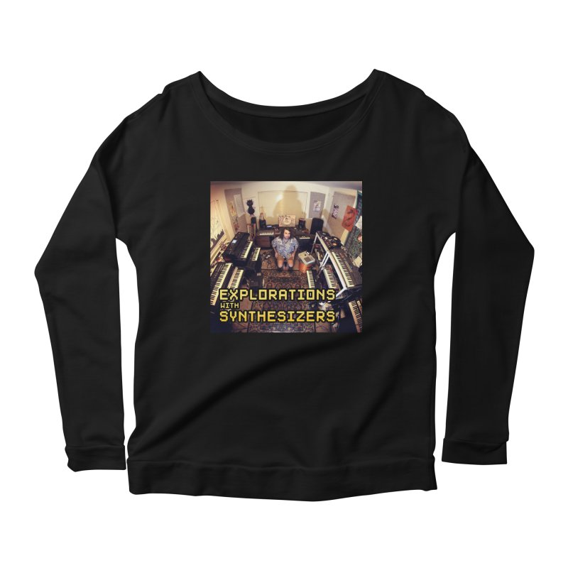 HUDSON GLOVER - EXPLORATIONS WITH SYNTHESIZERS Women's Longsleeve T-Shirt by Phantom Wave
