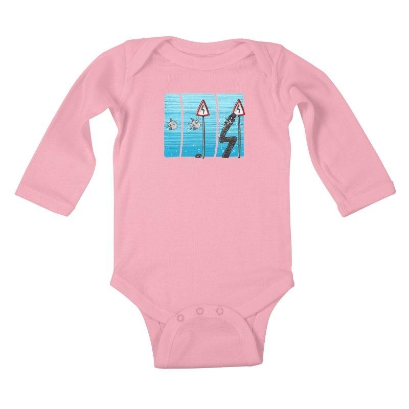 good rails Kids Baby Longsleeve Bodysuit by phermad's Shop