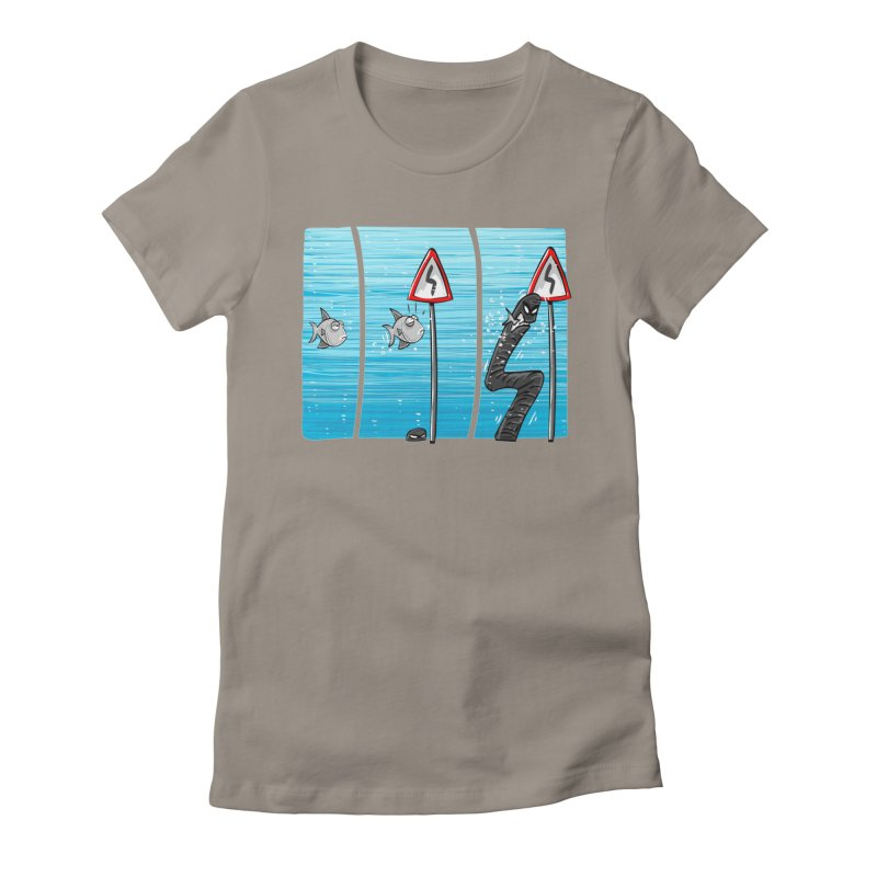 good rails Women's Fitted T-Shirt by phermad's Shop