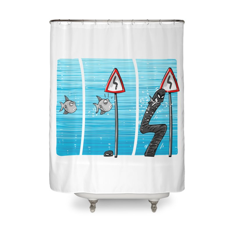 good rails Home Shower Curtain by phermad's Shop