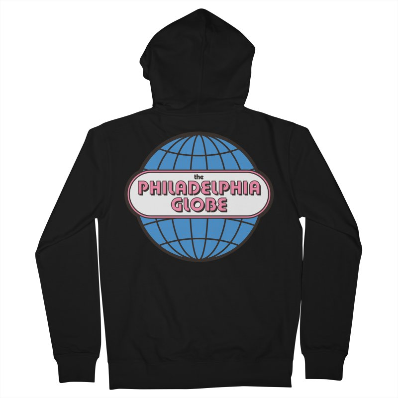 Phila Globe Women's Tops Women's Zip-Up Hoody by Phila Globe Merch Shop