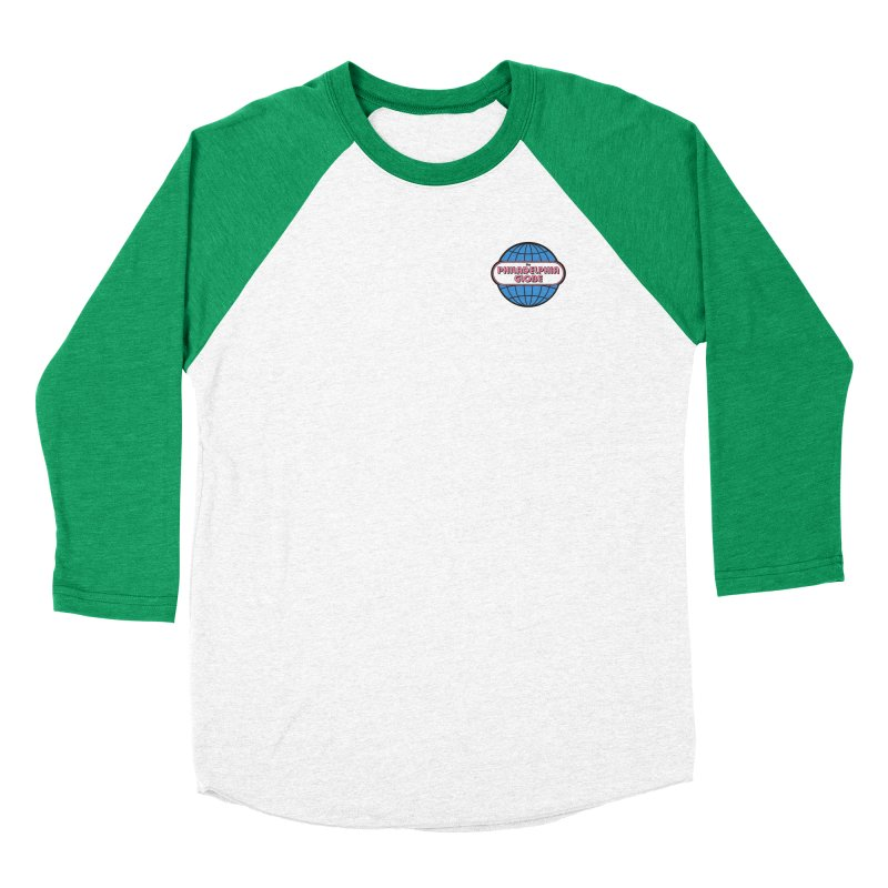 Small Logo Men's Longsleeve T-Shirt by Phila Globe Merch Shop