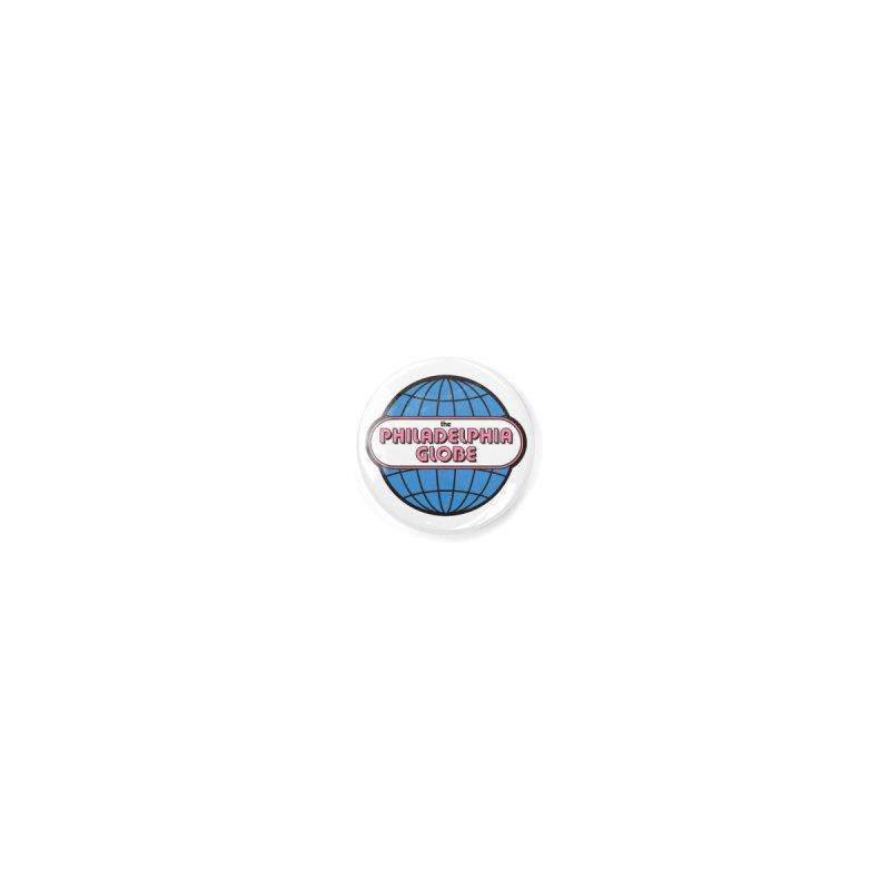 Phila Globe Pin Accessories Button by Phila Globe Merch Shop