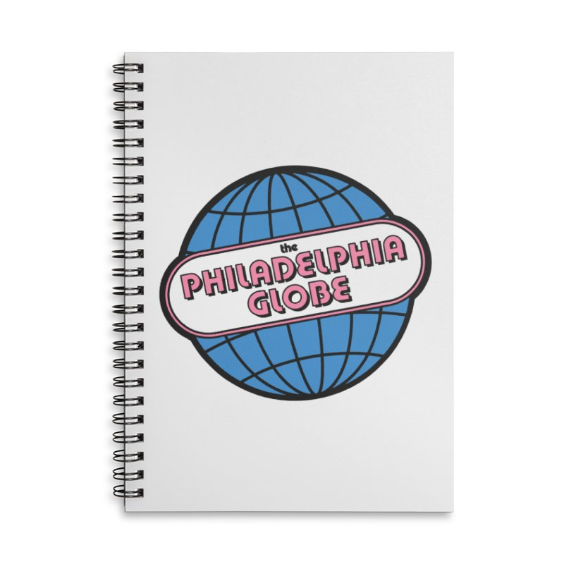 Notebooks and Journals Accessories Notebook by Phila Globe Merch Shop