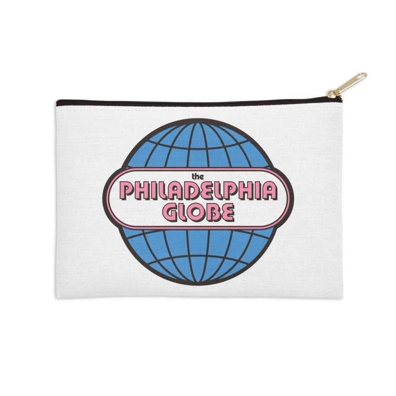 Zippered Pouch Accessories Zip Pouch by Phila Globe Merch Shop