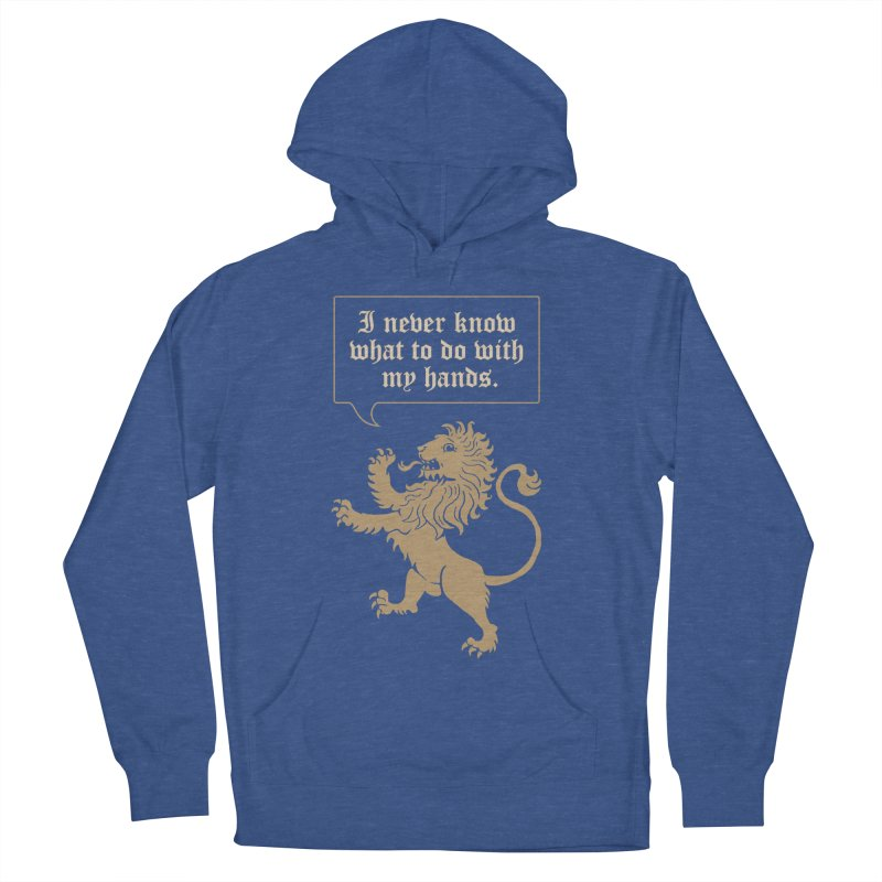 Lion Rampant Problems Women's Pullover Hoody by Phildesignart