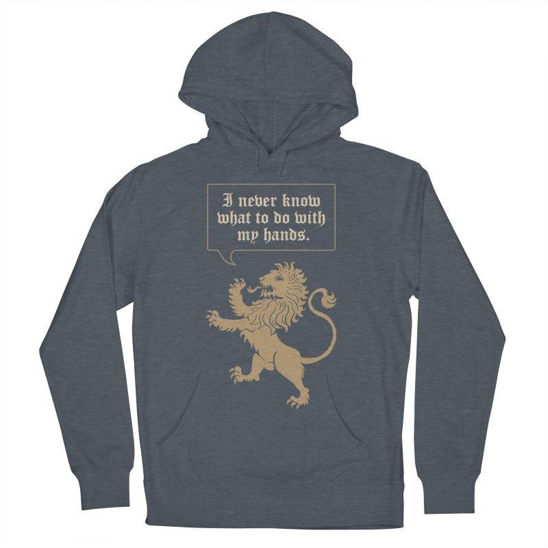 Lion Rampant Problems Women's Pullover Hoody by phildesignart's Artist Shop