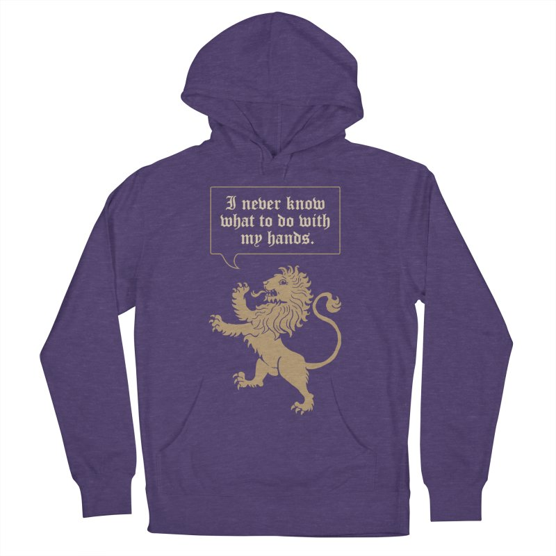 Lion Rampant Problems Men's Pullover Hoody by Phildesignart