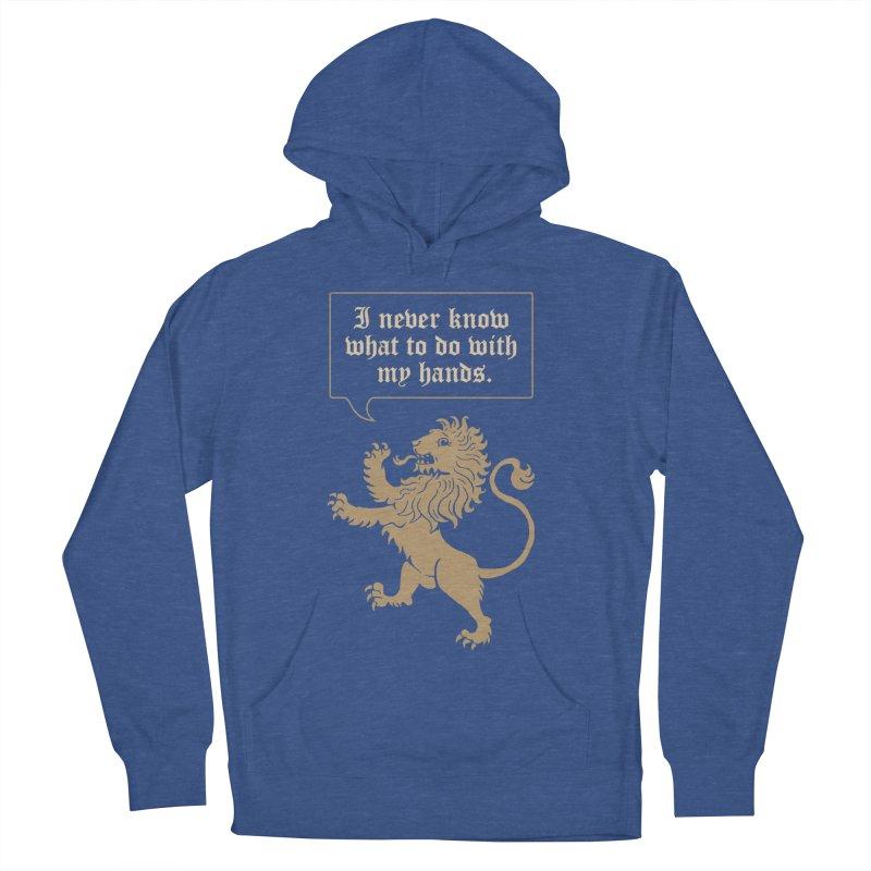 Lion Rampant Problems Men's Pullover Hoody by phildesignart's Artist Shop
