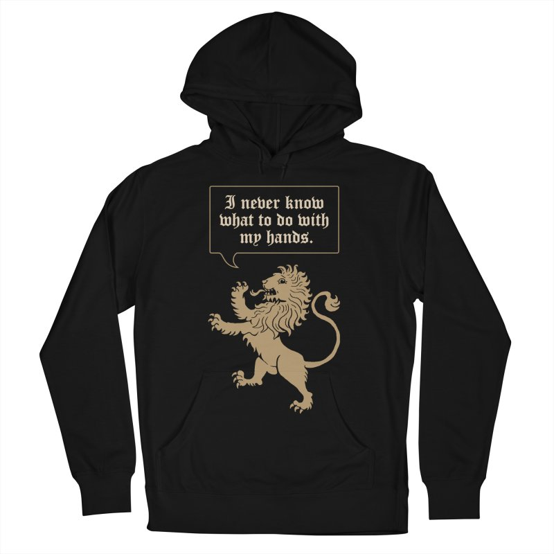 Lion Rampant Problems Men's Pullover Hoody by phildesignart's Artist Shop