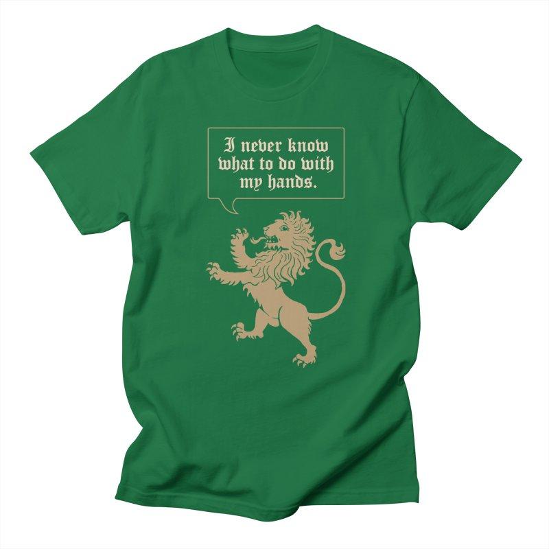 Lion Rampant Problems Men's Lounge Pants by Phildesignart