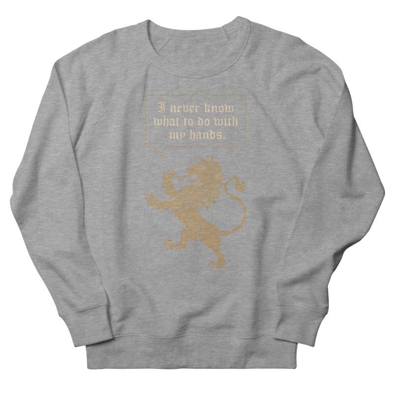 Lion Rampant Problems Women's Sweatshirt by Phildesignart
