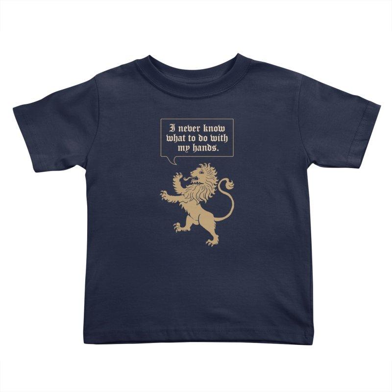Lion Rampant Problems Kids Toddler T-Shirt by phildesignart's Artist Shop
