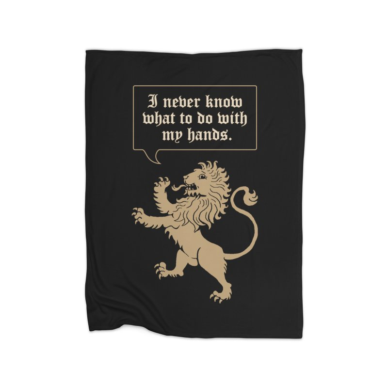 Lion Rampant Problems Home Blanket by phildesignart's Artist Shop