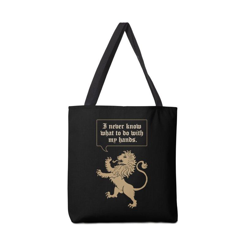 Lion Rampant Problems Accessories Bag by phildesignart's Artist Shop