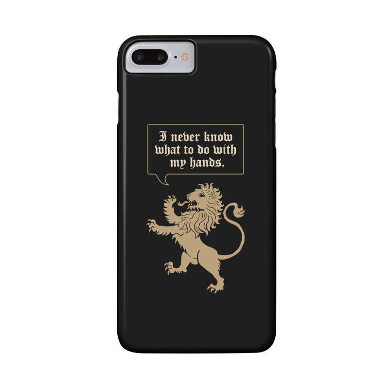 Lion Rampant Problems Accessories Phone Case by phildesignart's Artist Shop