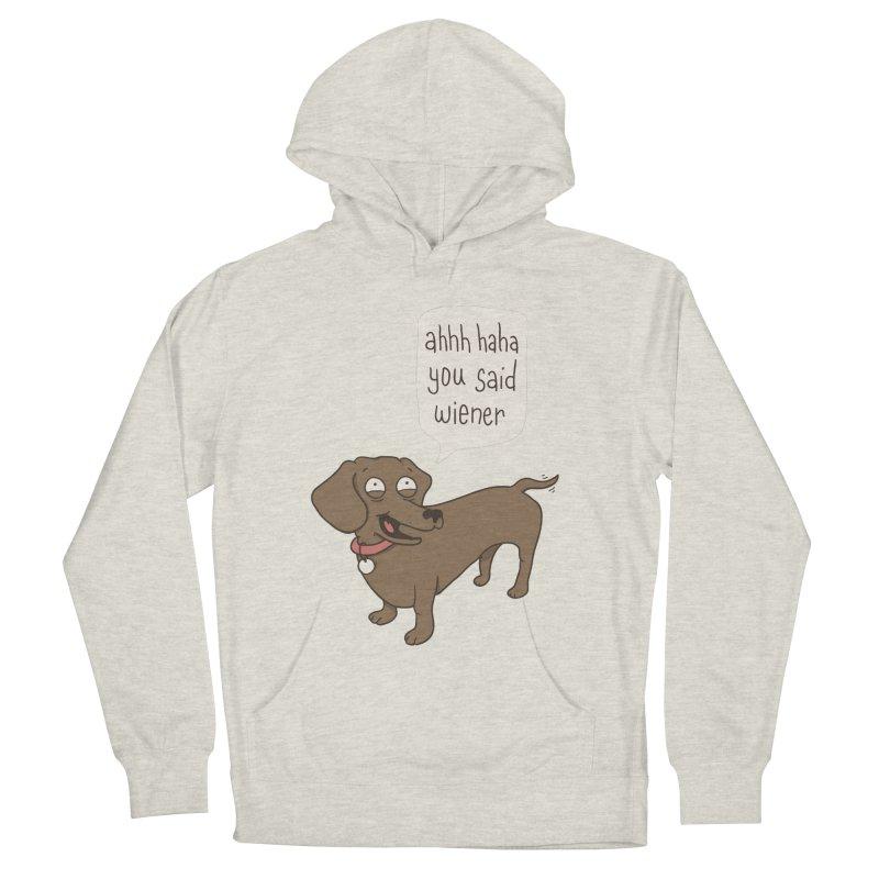 Immature Dachshund Men's Pullover Hoody by phildesignart's Artist Shop
