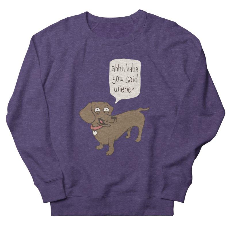 Immature Dachshund Women's Sweatshirt by Phildesignart
