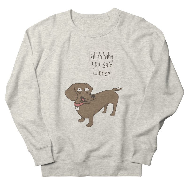 Immature Dachshund Women's Sweatshirt by phildesignart's Artist Shop