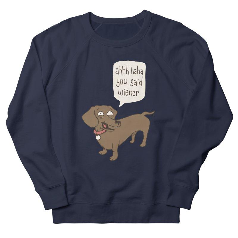 Immature Dachshund Men's Sweatshirt by phildesignart's Artist Shop