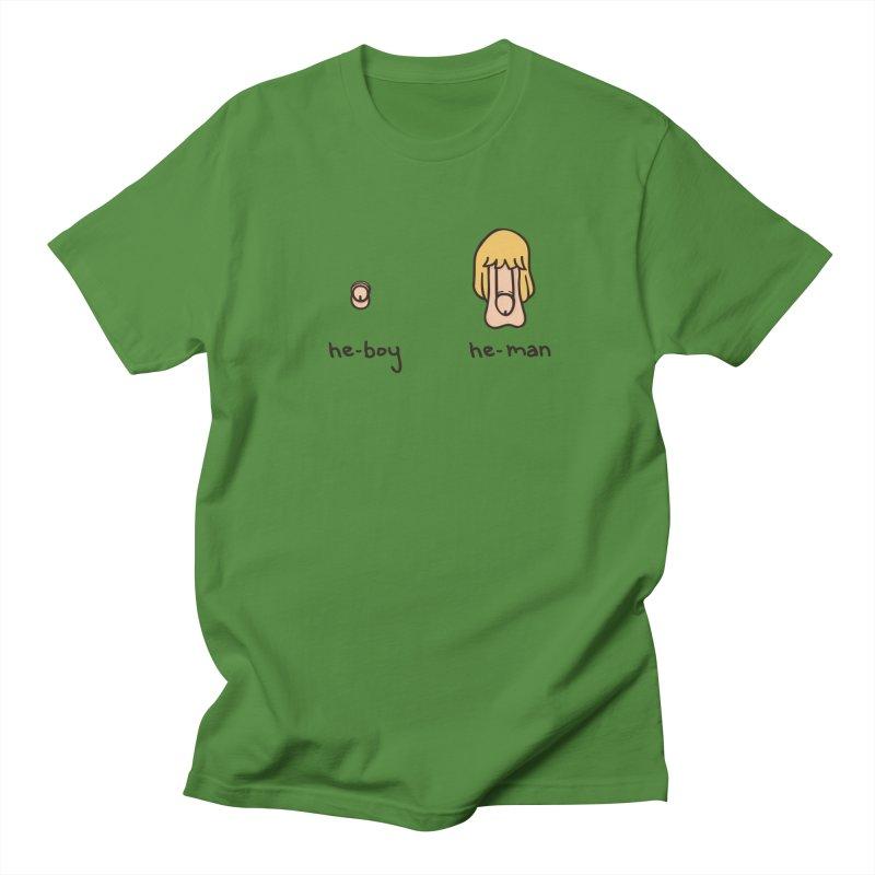 Becoming A He-Man Women's Unisex T-Shirt by phildesignart's Artist Shop