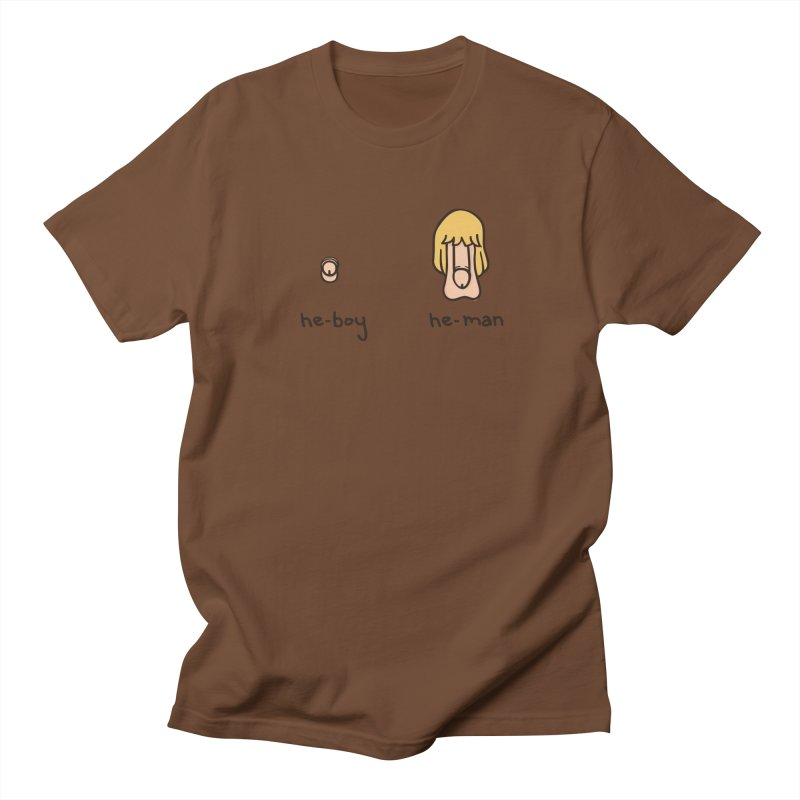 Becoming A He-Man Men's Regular T-Shirt by Phildesignart