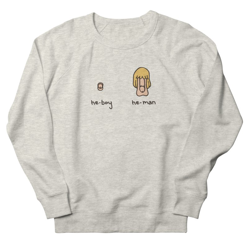 Becoming A He-Man Men's French Terry Sweatshirt by Phildesignart