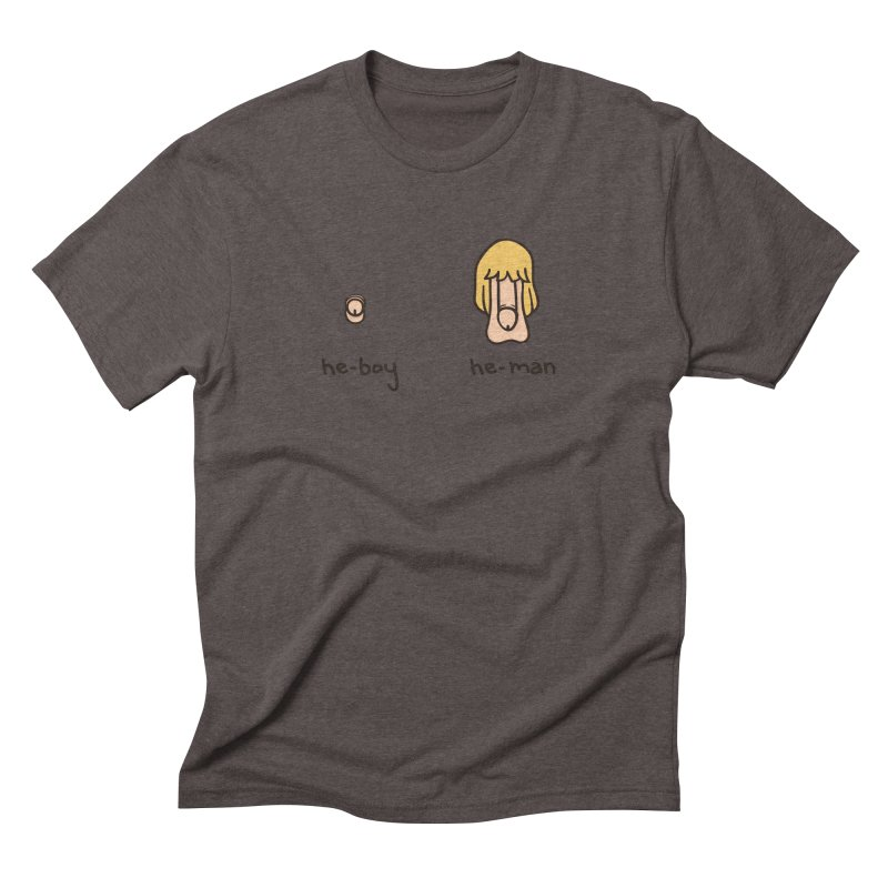 Becoming A He-Man Men's Triblend T-shirt by phildesignart's Artist Shop