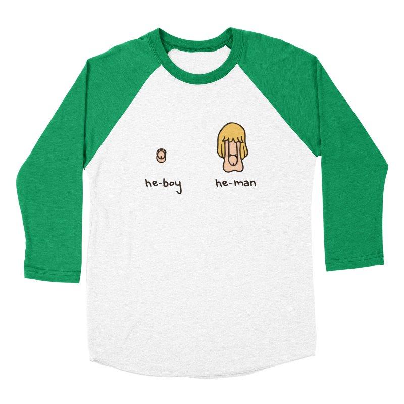 Becoming A He-Man Women's Baseball Triblend Longsleeve T-Shirt by Phildesignart