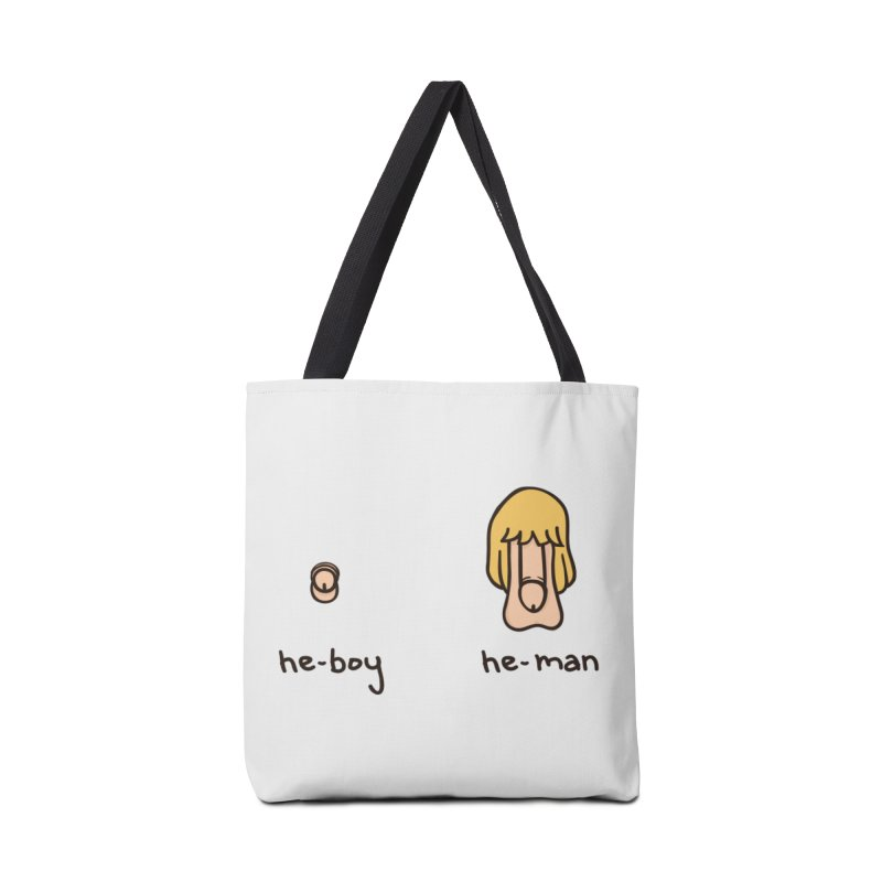 Becoming A He-Man Accessories Bag by Phildesignart