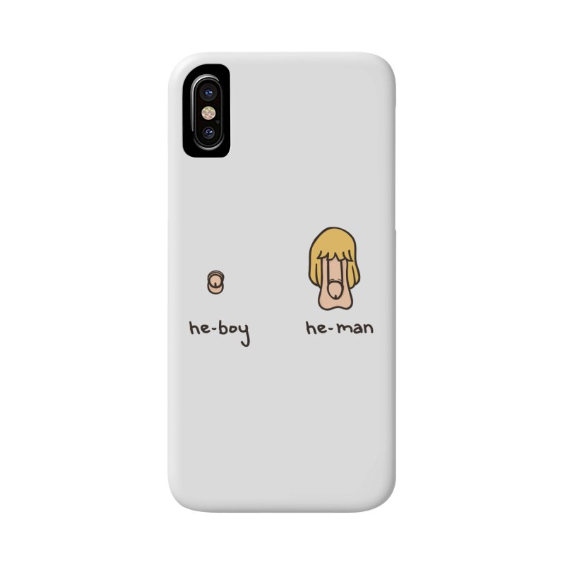 Becoming A He-Man Accessories Phone Case by Phildesignart