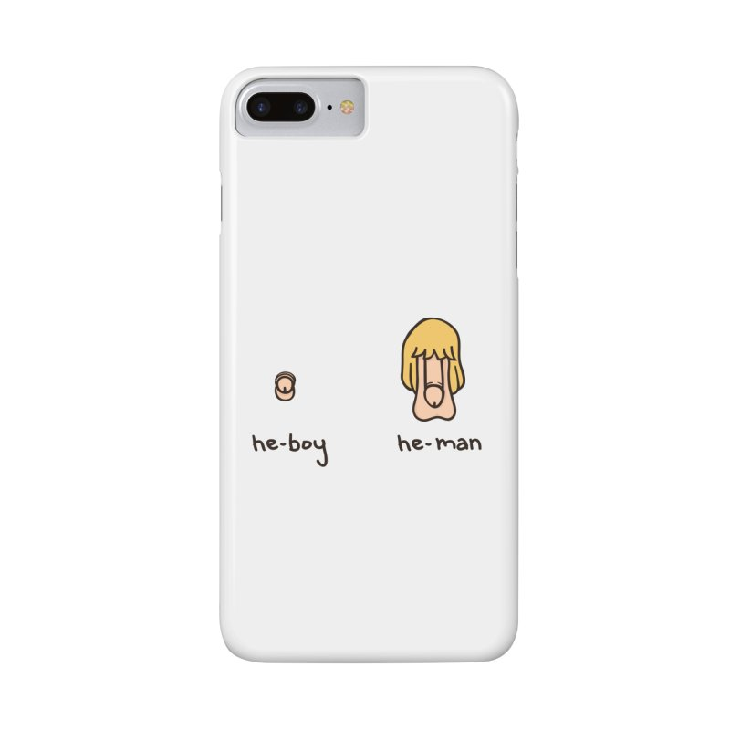 Becoming A He-Man Accessories Phone Case by phildesignart's Artist Shop