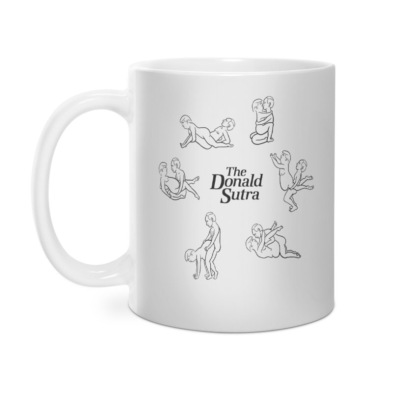 The Donald Sutra Accessories Mug by phildesignart's Artist Shop