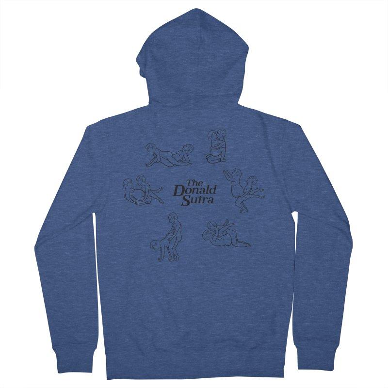 The Donald Sutra Men's Zip-Up Hoody by phildesignart's Artist Shop