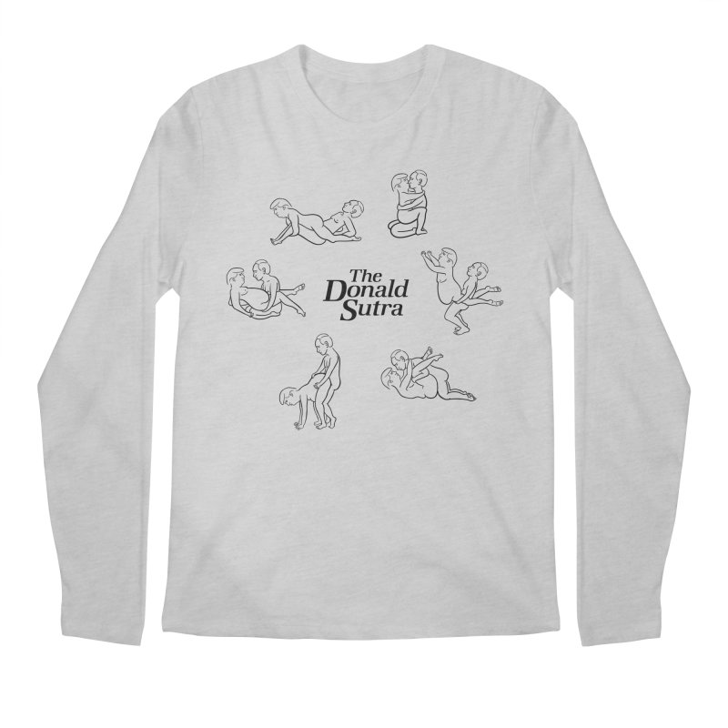 The Donald Sutra Men's Longsleeve T-Shirt by Phildesignart