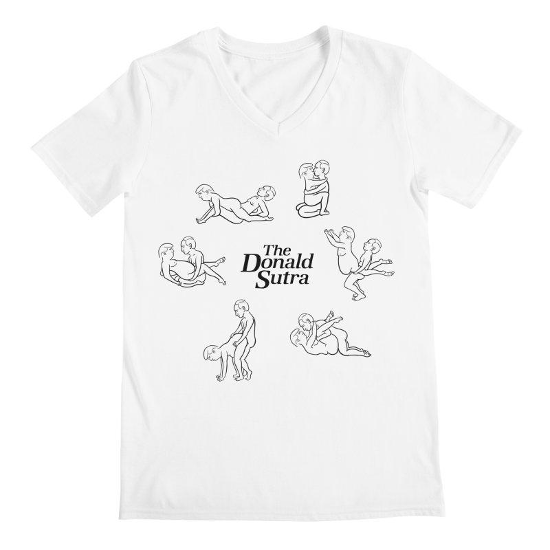 The Donald Sutra Men's Regular V-Neck by Phildesignart