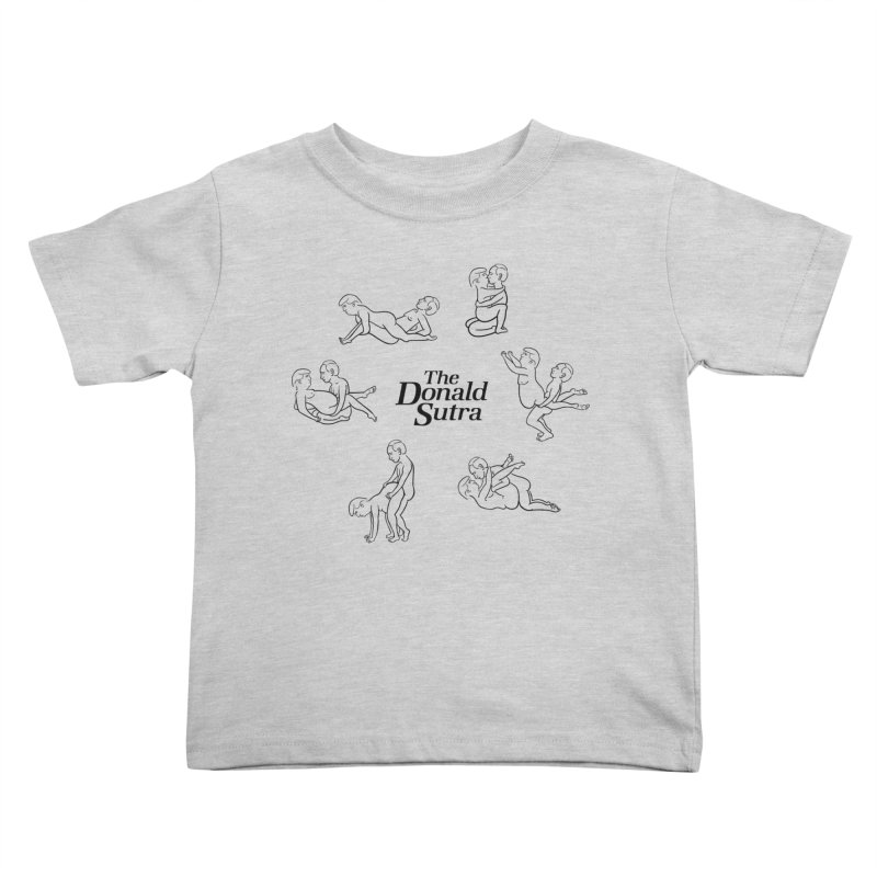 The Donald Sutra Kids Toddler T-Shirt by Phildesignart