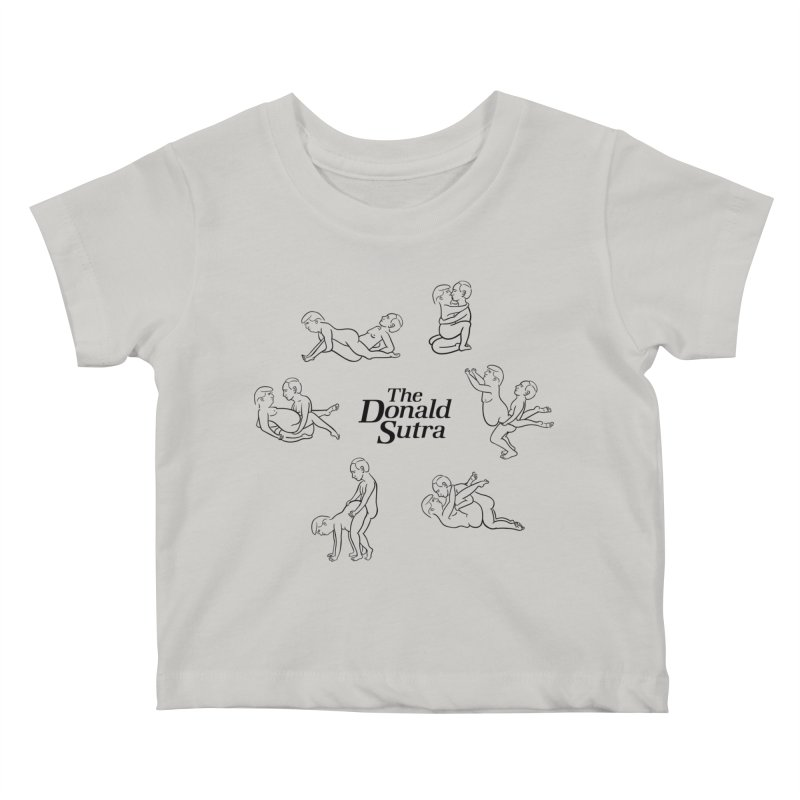 The Donald Sutra Kids Baby T-Shirt by phildesignart's Artist Shop
