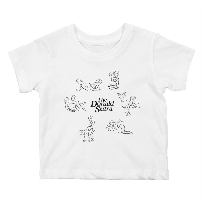 The Donald Sutra Kids Baby T-Shirt by Phildesignart