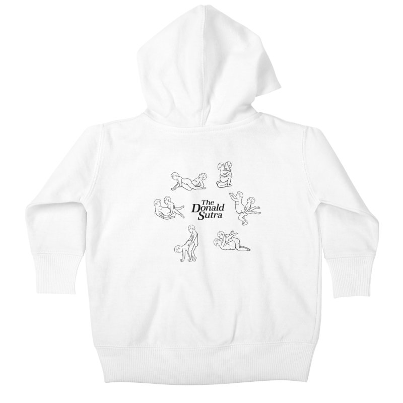The Donald Sutra Kids Baby Zip-Up Hoody by phildesignart's Artist Shop
