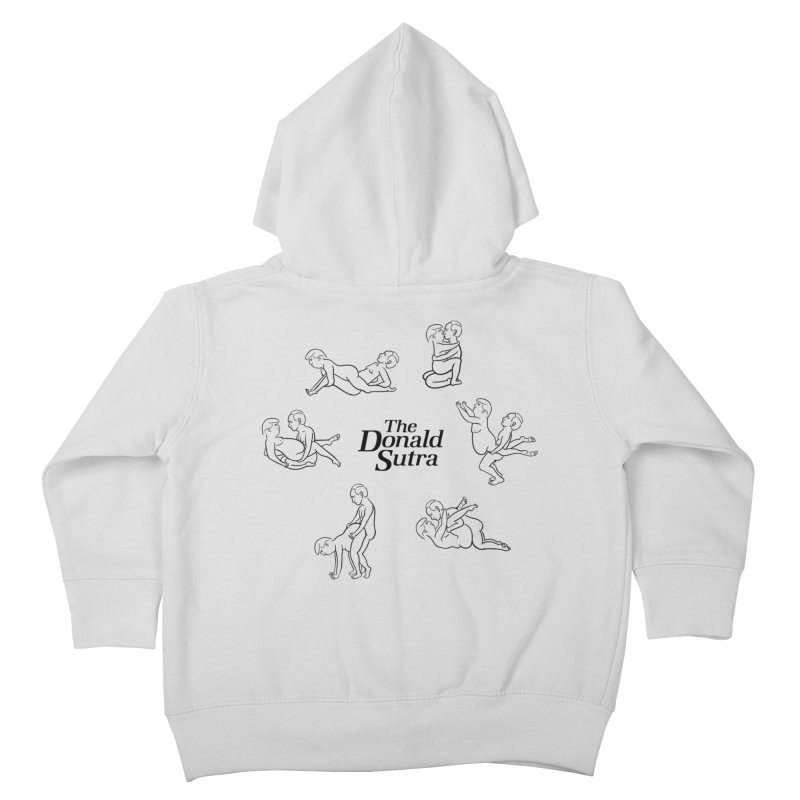 The Donald Sutra Kids Toddler Zip-Up Hoody by Phildesignart